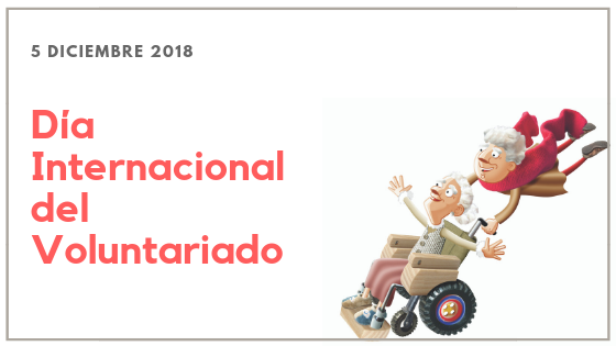 Gracias voluntarios/as, por vuestra gran labor social. Día internacional del Voluntariado